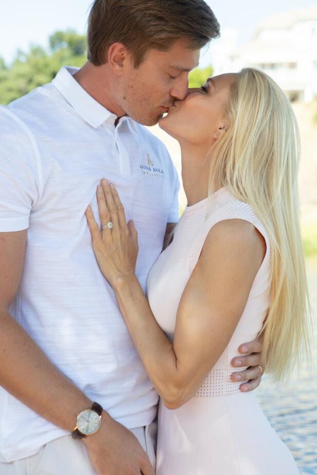 FANT LYKKEN: – Forholdet vårt er ærlig, sier Anna Anka om kjæresten David.  – Vi har betingelsesløs kjærlighet. Jeg har lært ham mye om kjærlighet. Hvordan knytte seg til noen. Veldig få vil oppleve betingelsesløs kjærlighet i livet. FOTO: Susanne Kindt