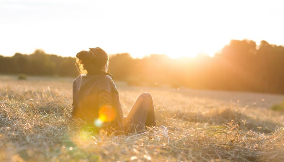 ET LYST SINN: Hvordan holder man egentlig humøret oppe når livet ikke er helt som det skal? FOTO: NTB Scanpix