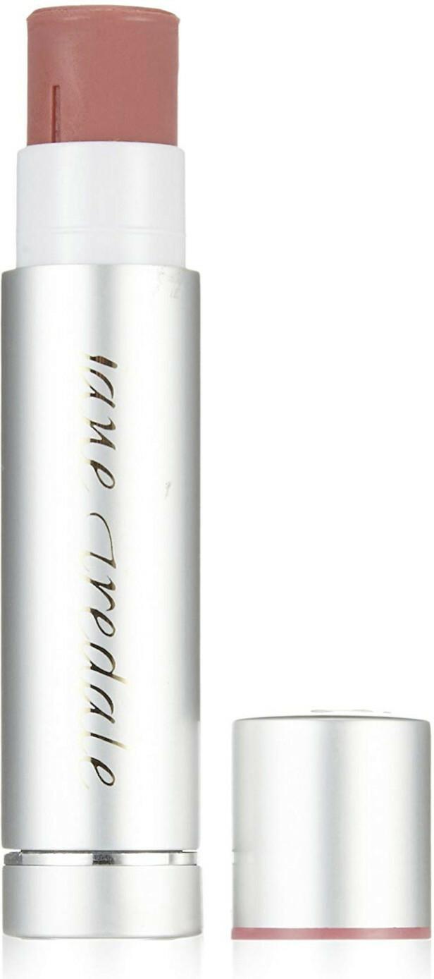 Antioksidanter fra oljer (kr 190, Jane Iredale, LipDrink Lip Balm SPF 15).