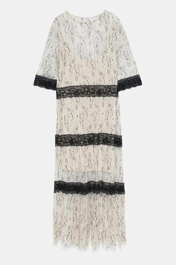 Lang kjole (kr 400, Zara). FOTO: Produsenten