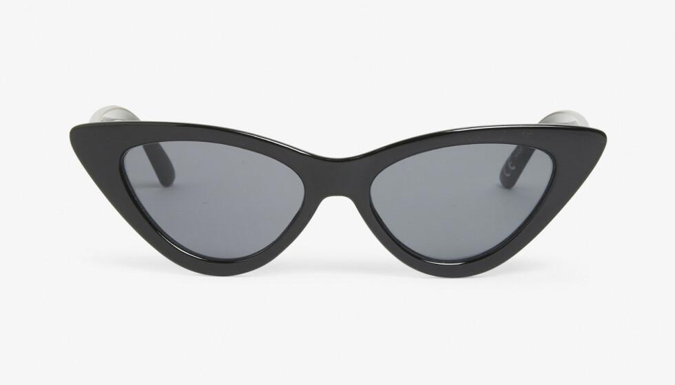 Cateye-solbriller (kr 120, Monki). FOTO: Produsenten