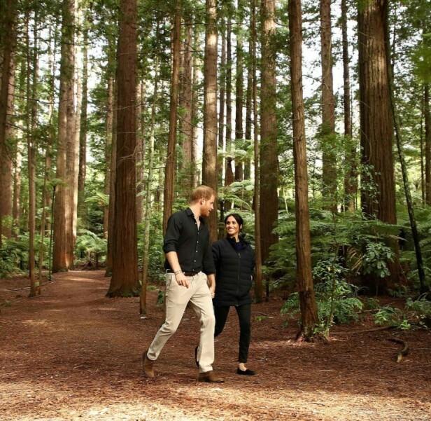 Prins Harry og hertuginne Meghan. Foto: Scanpix