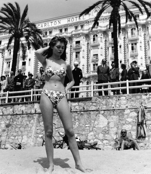 I CANNES: Brigitte Bardot i 1953. Foto: Scanpix
