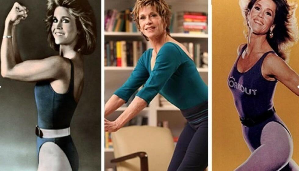 80-TALLET: Jane Fonda. Foto: Scanpix