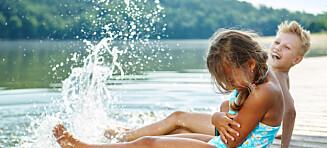 - Jeg har sett mange barn alene i vannet på flere badesteder i sommer