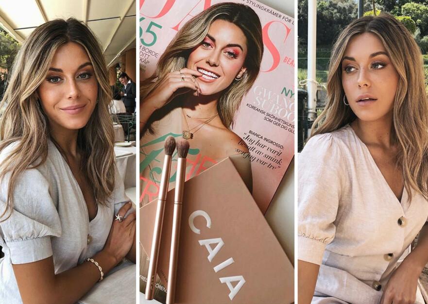 POPULÆR: Bianca Ingrosso gjør det svært godt som forretningskvinne. Foto: Skjermdump fra Instagram @biancaingrosso