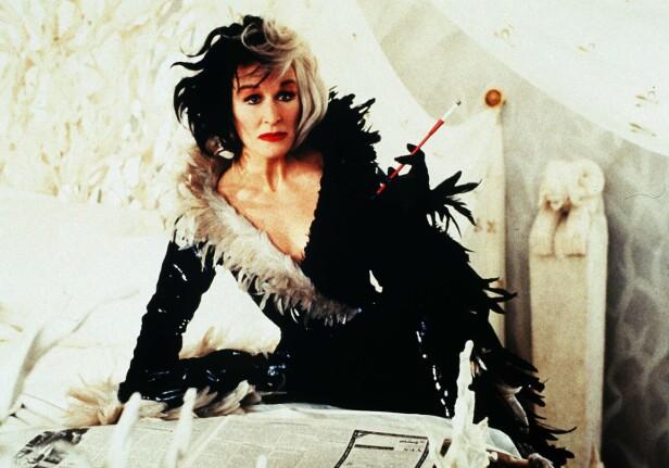 GLENN CLOSE: Skuespilleren hadde rollen som Cruella de Vil i 1996-versjonen. Foto: Scanpix