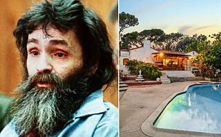 Charles Manson-drapshus er til salgs
