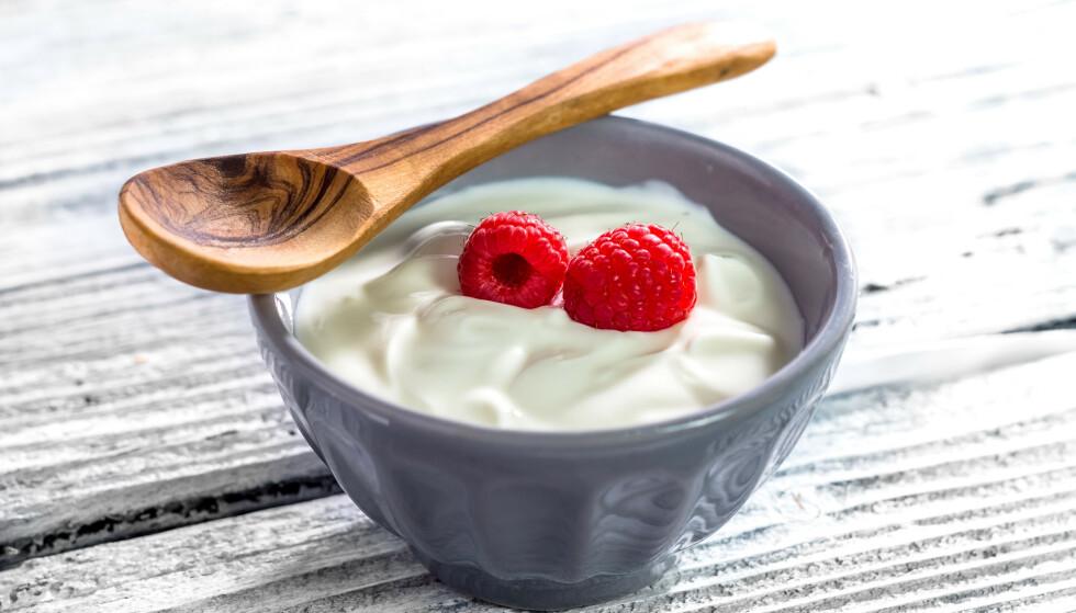PROTEIN AV GOD KVALITET: Gresk yoghurt, i likhet med andre meieriprodukter, inneholder proteiner av ypperste kvalitet.
