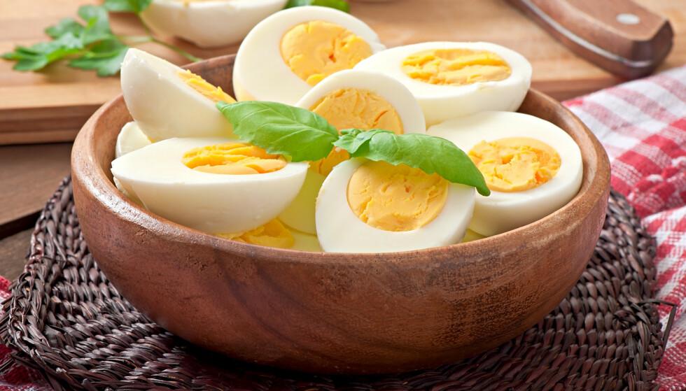 EGG ER SUNT: Egg inneholder både protein, vitaminer, jern, sink og jod.