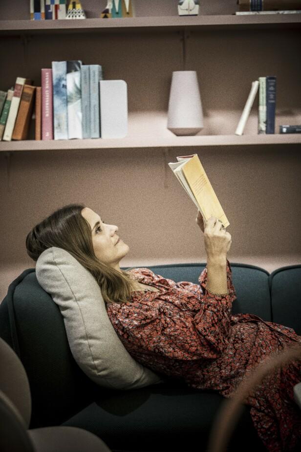 Mye av Katarinas budskap handler om at vi må ta kommandoen over våre tanker og oppførsel. FOTO: Rickard L. Eriksson