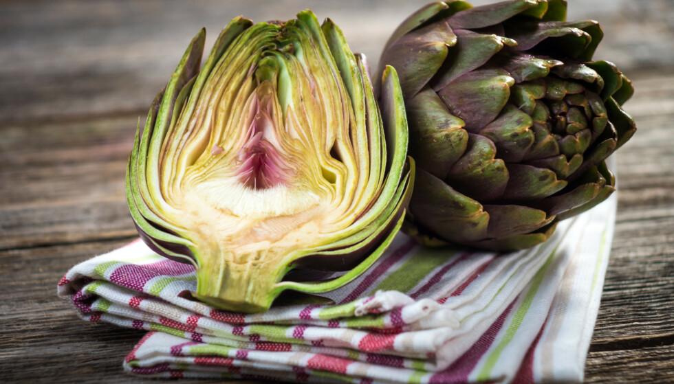 KALORIFATTIG: 100 gram artisjokk inneholder 4 gram protein og kun 47 kalorier.