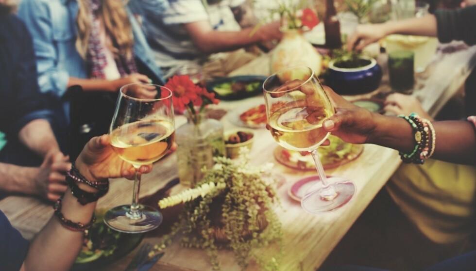 SOMMER OG KOS: Sommer betyr god mat og drikke for mange av oss. FOTO: Shutterstock
