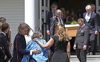 Slik tok Kennedy-familien farvel med Saoirse (22)