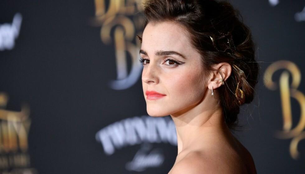 FEMINIST: Skuespiller og modell Emma Watson har ved flere anledninger titulert seg selv som feminist, og er svært opptatt av kvinners rettigheter. Nå vil hun hjelpe utsatte kvinner på arbeidsplassen. FOTO: AFP
