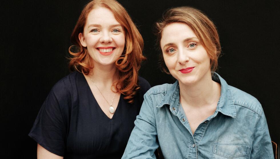 BOK OM MATING AV BABYEN: I sin nye bok tar Mina Lystad og Kristin Grue for seg et av de mest omdiskuterte temaene innen babyomsorg, nemlig mating. FOTO: Einar Aslaksen