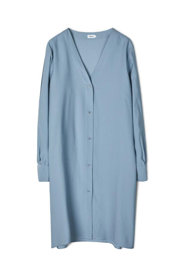 Skjortekjole (kr 1800, Filippa K). FOTO: Produsenten