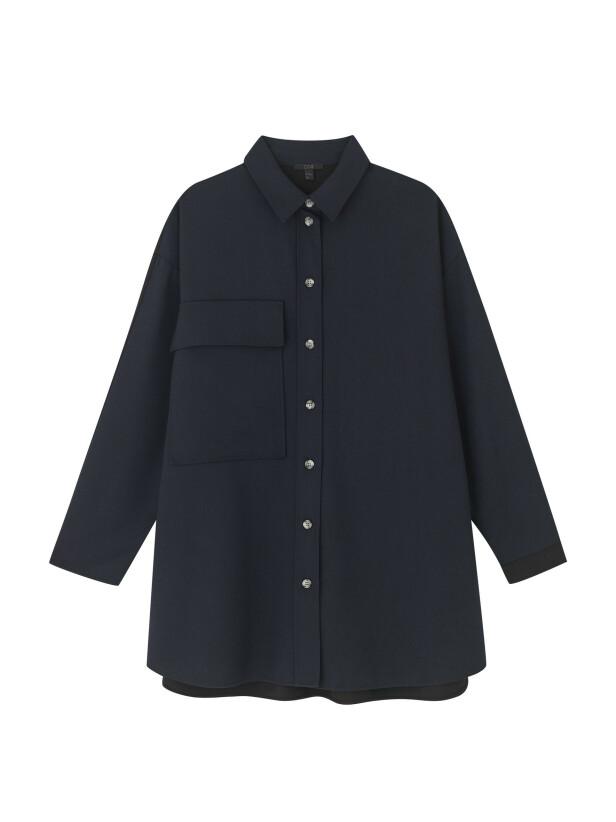 Oversized skjorte (kr 790, Cos). FOTO: Produsenten