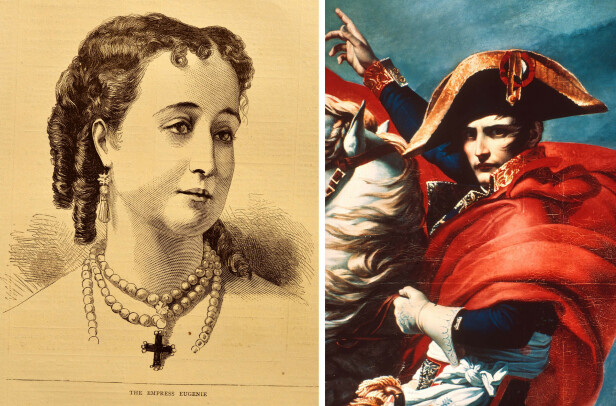 HISTORISK: Forlovelsesringen som prins Jean-Christophe har gitt kjæresten grevinne Olympia, har tidligere vært i eie hos keiserinne Eugénie de Montijo (1826-1920). Den kommende brudgommen er i slekt med keiser Napoléon Bonaparte (1769-1821). FOTO: NTB Scanpix