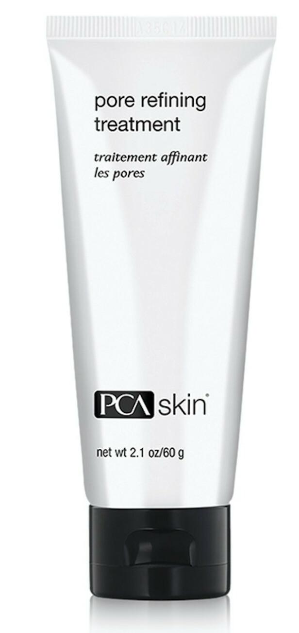 Eksfolierer med syrer og enzymer (kr 540, PCA Skin, Pore Refining Treatment). FOTO: Produsenten