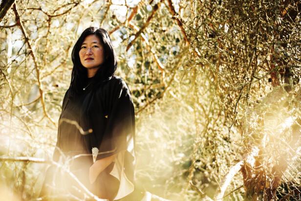 – Temperamentet har jeg ett hundre prosent fra min koreanske familie, sier Eva. FOTO: Carsten Seidel