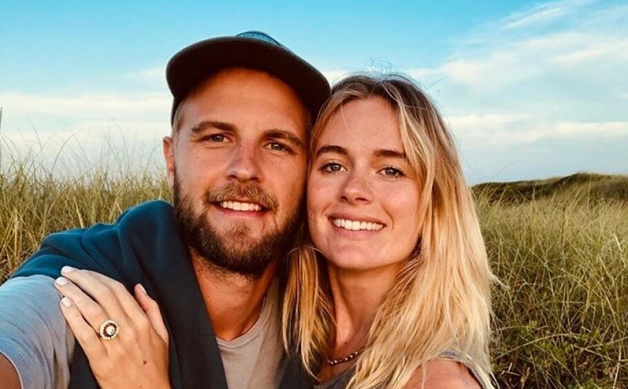 <strong>FORLOVET:</strong> Cressida Bonas har funnet lykken på ny med ekskjæresten Harry Wentworth-Stanley. Nå er paret forlovet. FOTO: Skjermdump // Instagram
