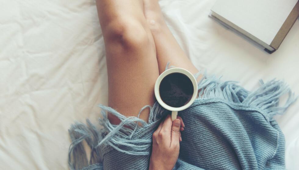 <strong>KAFFE OM KVELDEN:</strong> Ny studie viser at kaffe om kvelden gir bedre nattesøvn enn alkohol. FOTO: NTB Scanpix