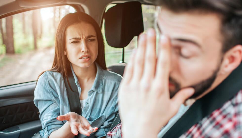 UENIGE: Hva skjer hvis du og kjæresten er HELT uenige politisk? FOTO: NTB Scanpix