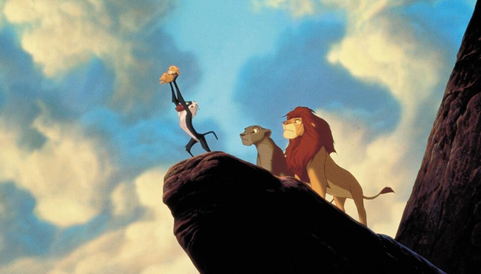 ORIGINALEN: Løvenes konge kom ut på VHS i 1995, året etter at den ble sendt på kino. Nå er den originale Masterpiece Collection-versjonen verdt flere tusen kroner. FOTO: NTB Scanpix