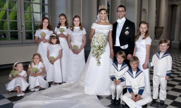 BRUDEPIKE: Prinsesse Ingrid Alexandra var et naturlig valg som kronprinsesse Victorias brudepike da hun giftet seg med Daniel Westling i 2010. FOTO: NTB Scanpix