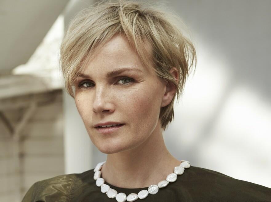 Lena Kristin husker sin første jobb som profesjonell skuespiller, etter å ha virket som amatør i mange år: – Jeg tenkte bare: «Hæ! Skal jeg få betalt for det også?». FOTO: Janne Rugland