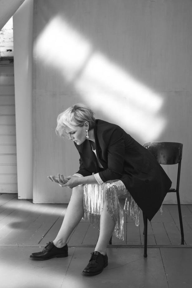 Lena Kristin er klar for å spille Maria von Trapp i «Sound of Music»:   – Maria er en autist på en måte. Veldig rett fram. Som en slags sympatisk Saga Noren, sier hun. FOTO: Janne Rugland