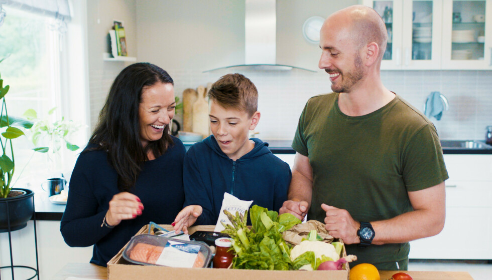 SUNT, GODT OG ENKELT: Med Godtlevert får du matvarene på døra. I Fleksitarianerkassen får du én vegetarmiddag, én fiskemiddag og én kyllingmiddag.