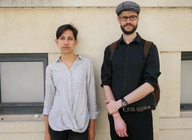 STOR SORG: Jessica Johannesson og hennes britiske partner Adam Ley-Lange, har tatt en felles beslutning om at de på grunn av klimaendringene ikke skal ha barn. - Vi har gått gjennom en periode av alvorlig sorg, en sorg som fortsatt pågår, forteller hun.