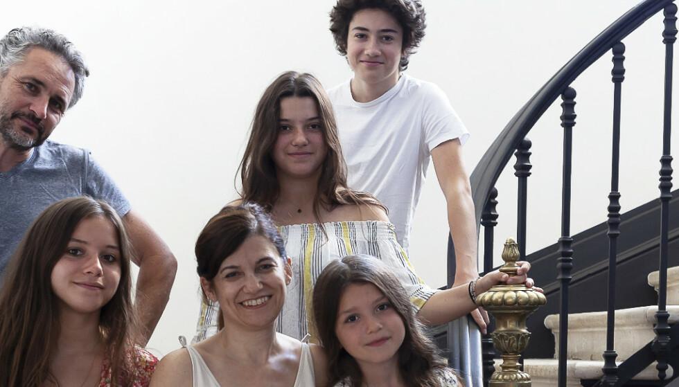 Slik forvandlet ekteparet det franske byhuset til et moderne familiehjem