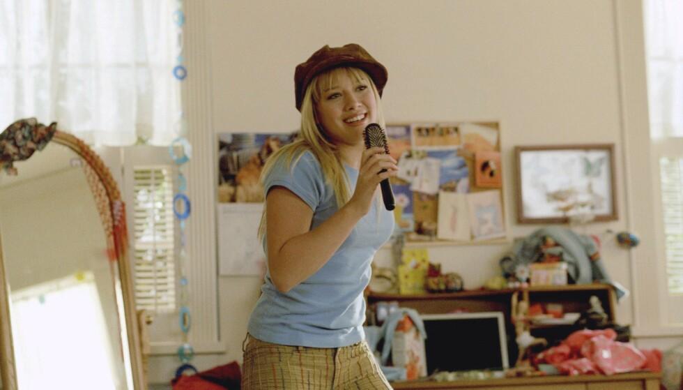 NY RUNDE LIZZIE FOR HILLARY: Nylig ble det annonsert at Disney vil lage en ny runde av serien Lizzie Mcguire fra tidlig 2000-tallet (som også ble film) med Hillary Duff i hovedrollen som en ung voksen Lizzie. Nå lurer fansen på hvem som skal spille gutterollene. Foto: NTB Scanpix