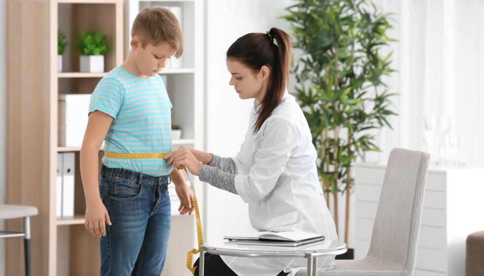 <strong>BLIR PÅVIRKET:</strong> Barn og unge er lettere påvirkelig når det gjelder både kroppspress og utvikling av spiseproblematikk, sier ekspert.
