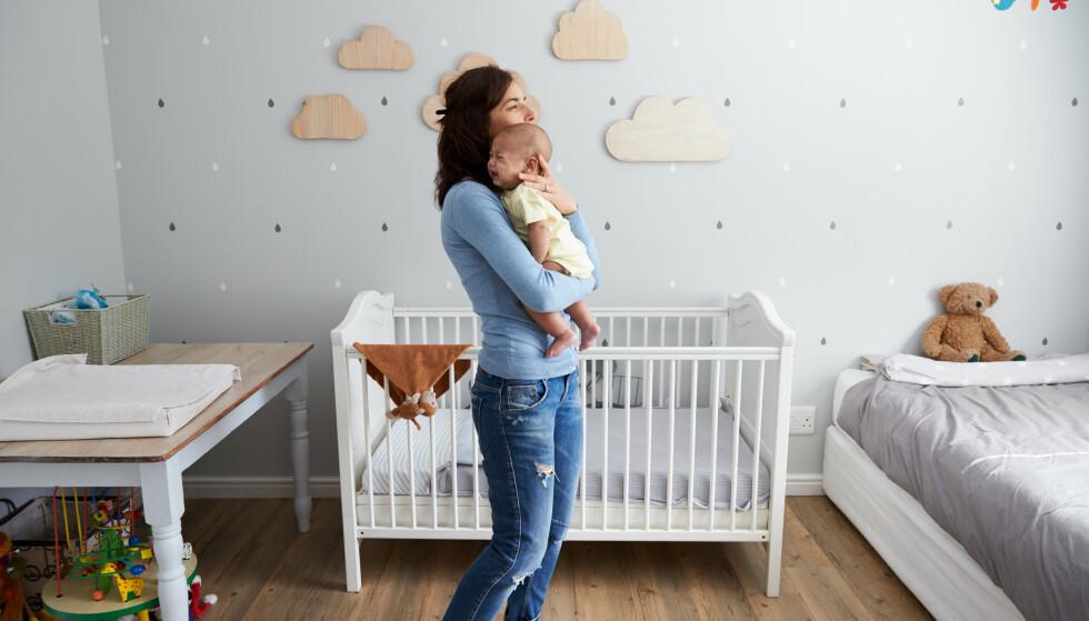 GODE SØVNVANER: - Legg ned barnet før det har sovnet, så det opplever å mestre innsovningen på egenhånd, sier eksperten. FOTO: NTB Scanpix