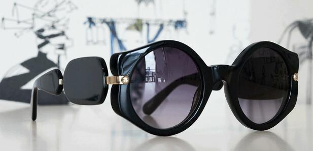 Glamorøse solbriller fra Viktor&Rolfs nye Specsavers-kolleksjon. FOTO: Alexander Sporre