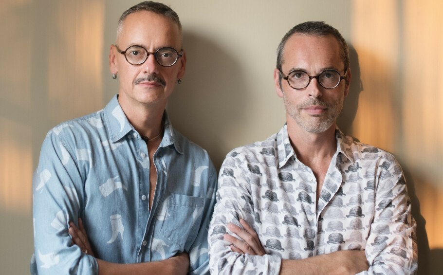 BRILLEKOLLEKSJON: Etter 30 år som designerduo, lanserer nå Viktor & Rolf sin første brillekolleksjon sammen med Specsavers. FOTO: Alexandre Sporre