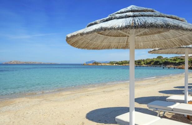 Costa Smeralda er Sardinias mest kjente kystlinje, og her finner du mange flotte strender. FOTO: NTBScanpix