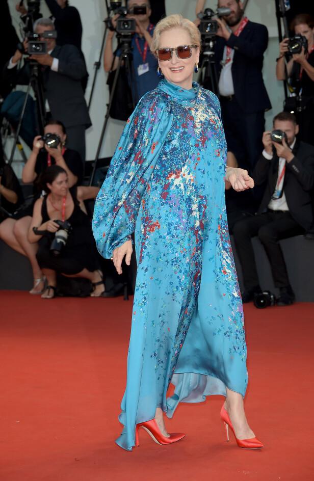 Meryl Streep. Foto: Scanpix