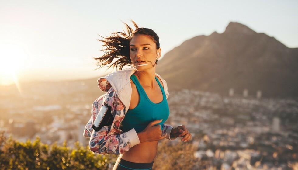 <strong>HOLD DEG UNG:</strong> Trening handler ikke bare om å se bra ut, aktivitetsnivået ditt har også noe å si for hvor raskt du eldes. Foto: Scanpix.