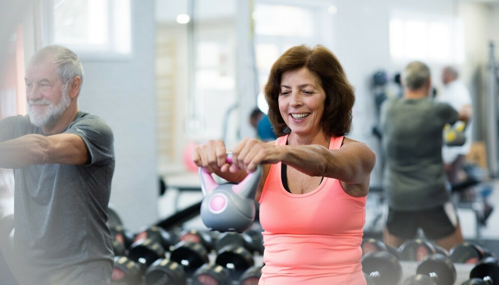 <strong>ALDER INGEN HINDRING:</strong> En aktiv 70-åring kan være vesentlige sprekere enn en inaktiv 20-åring. Foto: Scanpix.