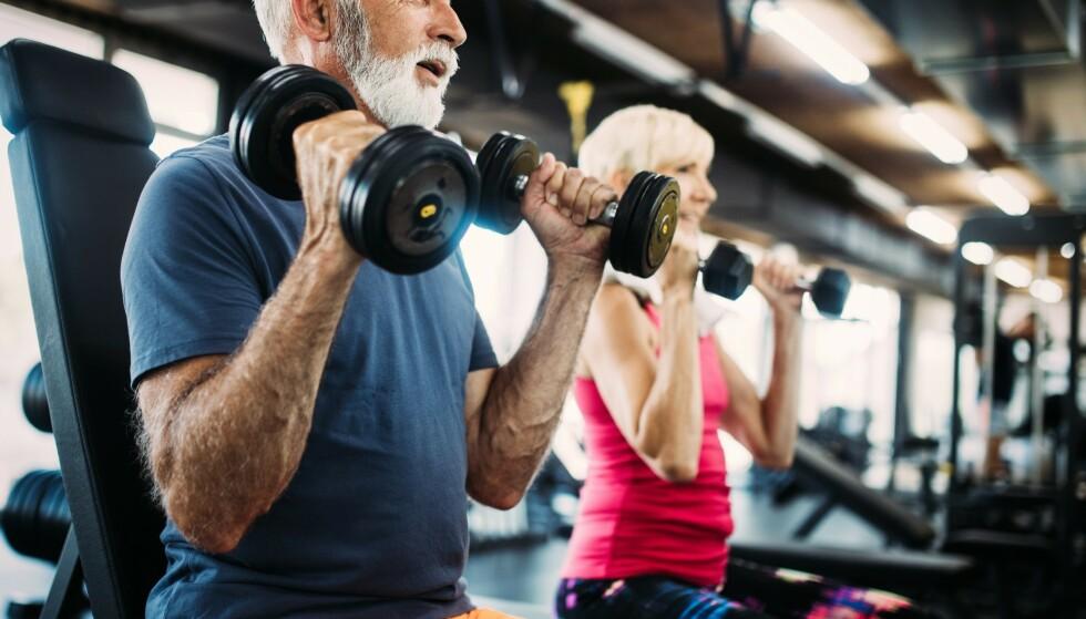 <strong>FRISK KROPP OG FRISK HJERNE:</strong> Trening har gunstige effekter for hjernen, og kan minske risikoen for demens. Og all aktivitet er god aktivitet. Foto: Scanpix.