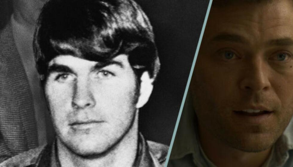 FRA IDRETTSTALENT TIL MORDER: Hva fikk Tex Watson til å bikke over? Var det Mansons talegaver eller dop, eller kanskje kombinasjonen? Bildecollage: Baam.se