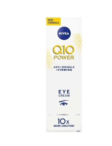 Øyekrem | NIVEA | https://www.nivea.no/produkter/q10-power-anti-wrinkle-plusfirming-eye-cream-4005808179763006863.html?utm_source=kk&utm_medium=native&utm_campaign=NO_C204_NIV_Face_Q10Care
