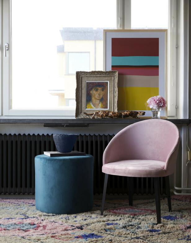 Et mykt og herlig teppe er en super måte å tilføre farge på samtidig som det varmer opp hele rommet. Law of balance-teppe fra Layered kommer i to størrelser og koster fra kr 8900.