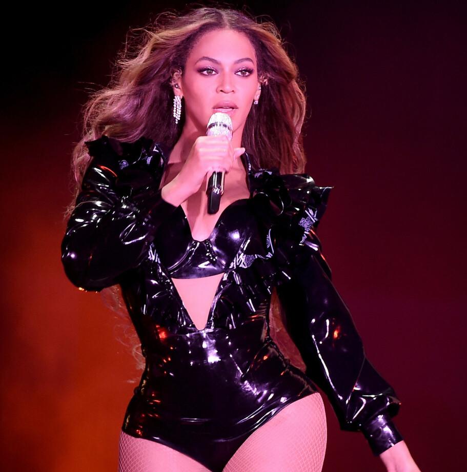 FINT SELSKAP: Superstjernen Beyoncé driver den humanitære organisasjonen Beygood. I 2015 besøkte hun flere sykehus på Tahiti og norske Gunhilde Utsogn var med og tilrettela for verdensstjernen, og besøkte sykehus sammen med henne. FOTO: NTBScanpix