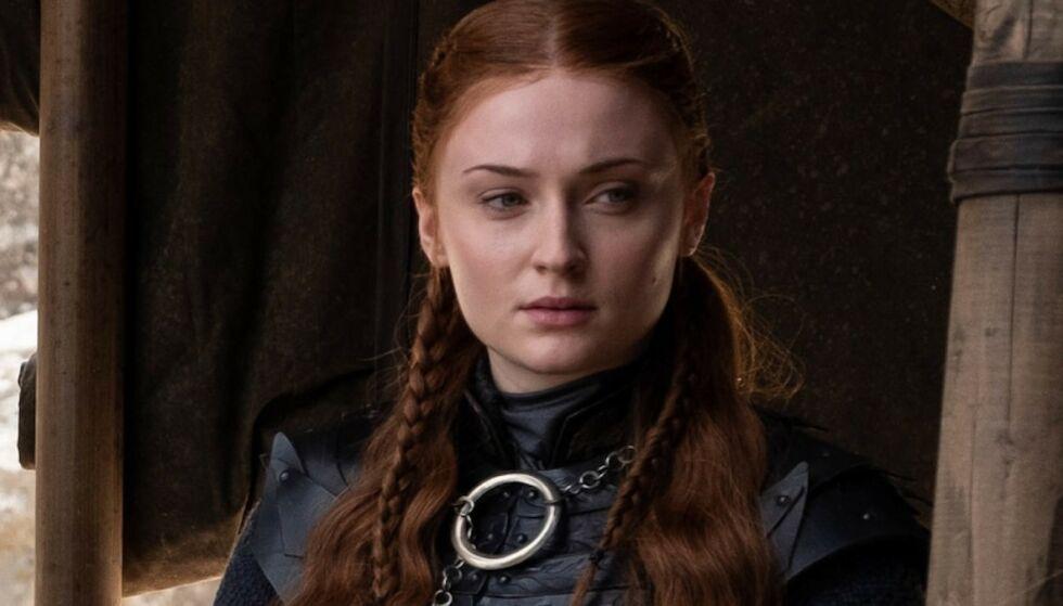 SUKSESS: Sophie Turner har blitt en av verdens største stjerner etter at hun spilte Sansa Stark i «Game of Thrones». FOTO: HBO